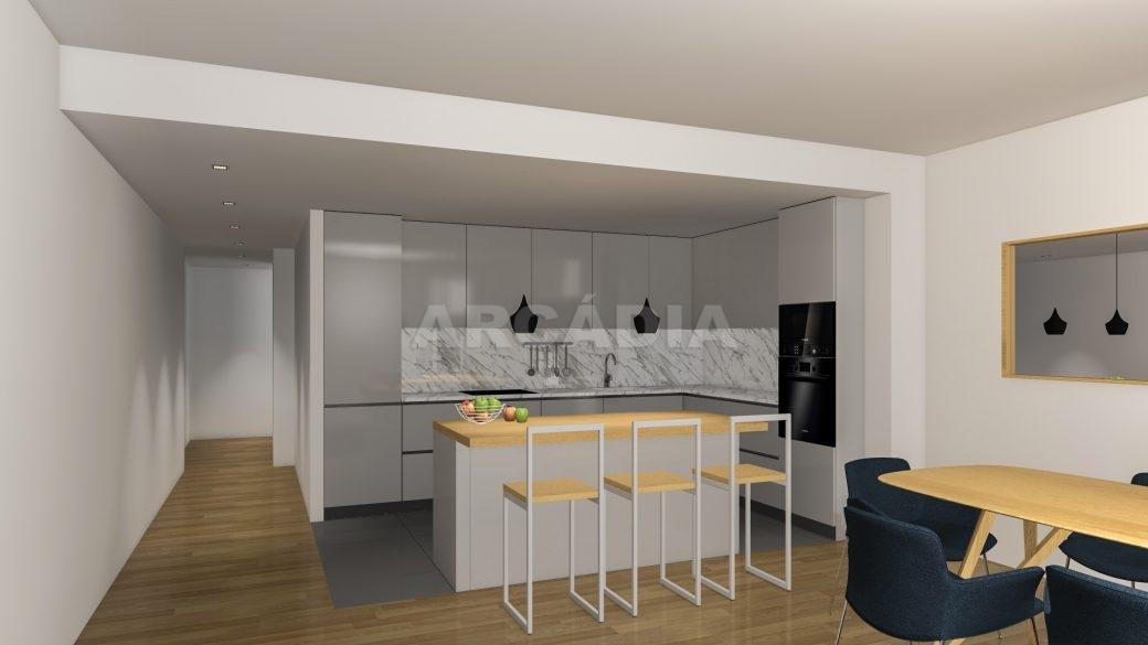 Apartamento-Remodelado-no-Centro-Historico-cozinha-balcao-sala